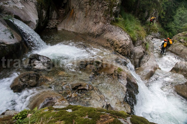 Travel to Transilvania - Canyoning in Marii Valley