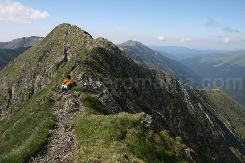 Vistea - Moldoveanu Ridge- Crossing the Ridge of Fagaras Mountains