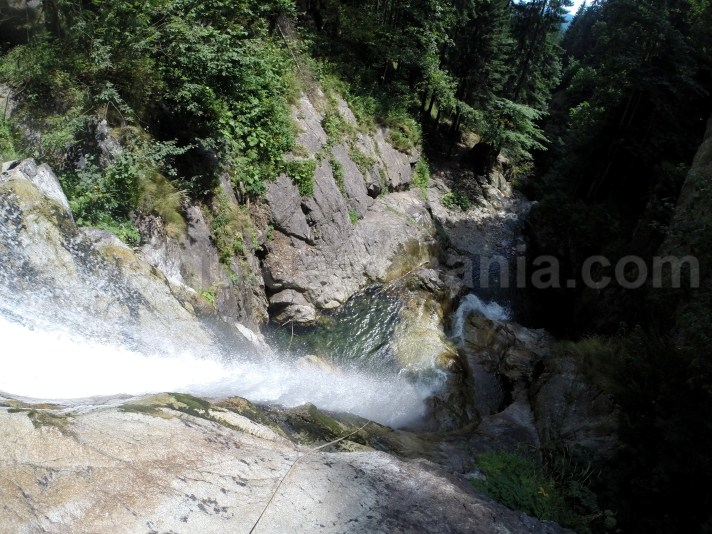 Waterfalls in Retezat Mountains - travel to Romania