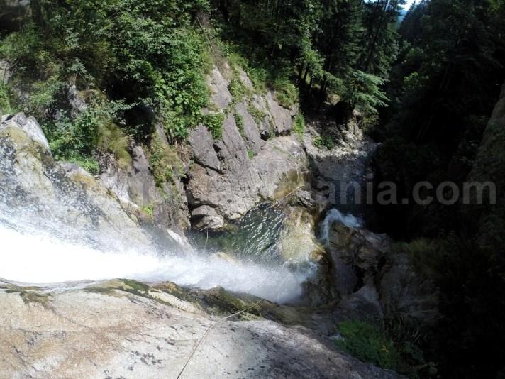 Waterfalls in Retezat Mountains - travel to Romania