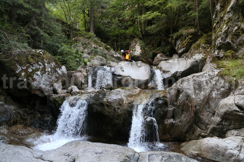 Wetsuit for canyonig in Marii Valley - Romania