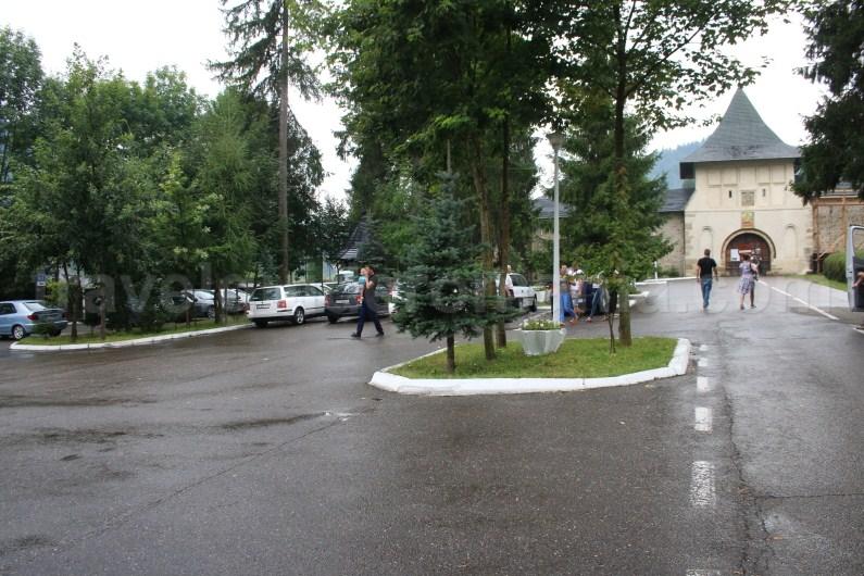 Putna Monastery parking place - Romania