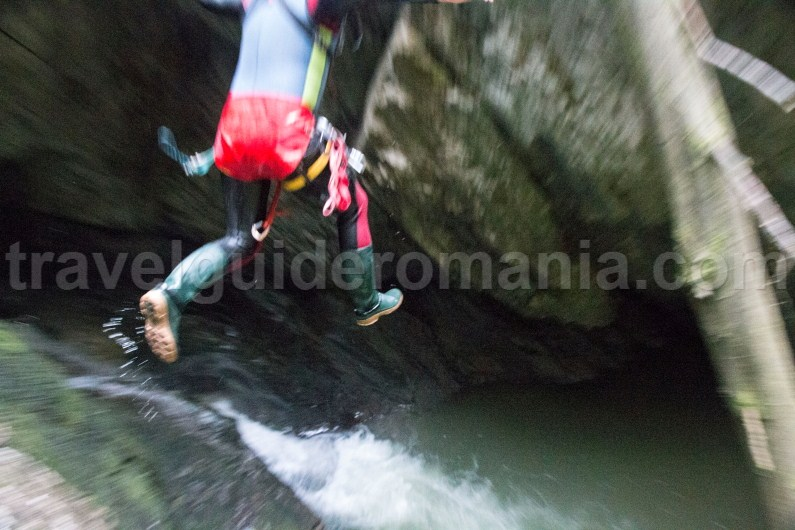 Canyoning in Padis area - Galbenei Canyon