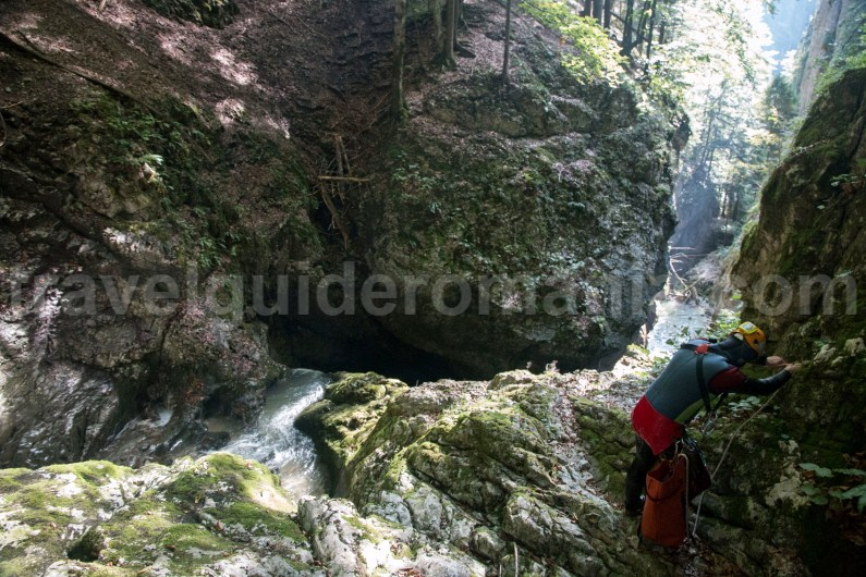Galbenei Canyon - travel to Apuseni Mountains