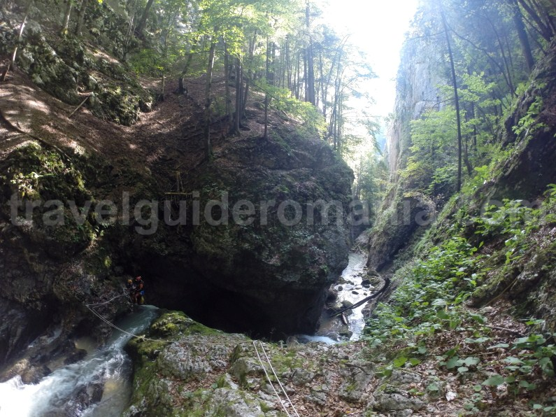 Outdoor activities in Romania - Guided canyoning trips