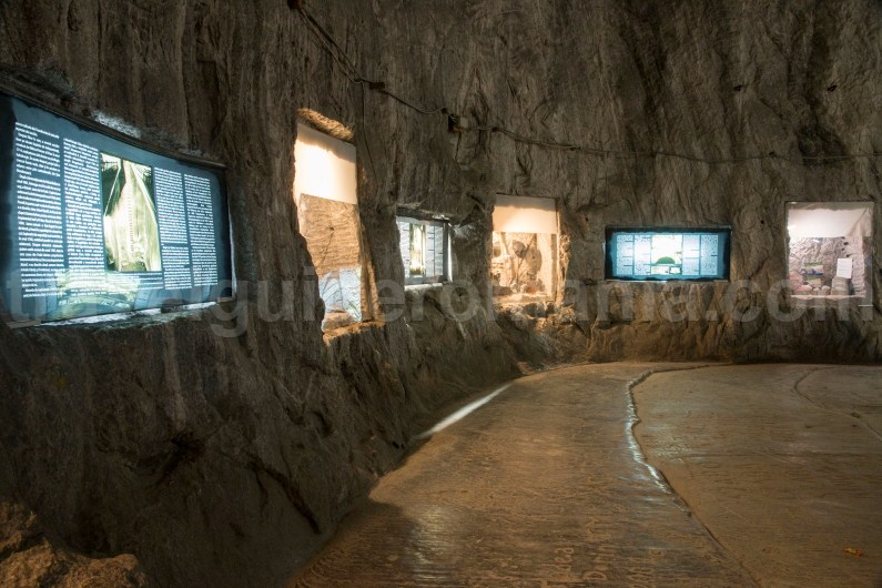 Mining museum in Praid salt mine - Romania