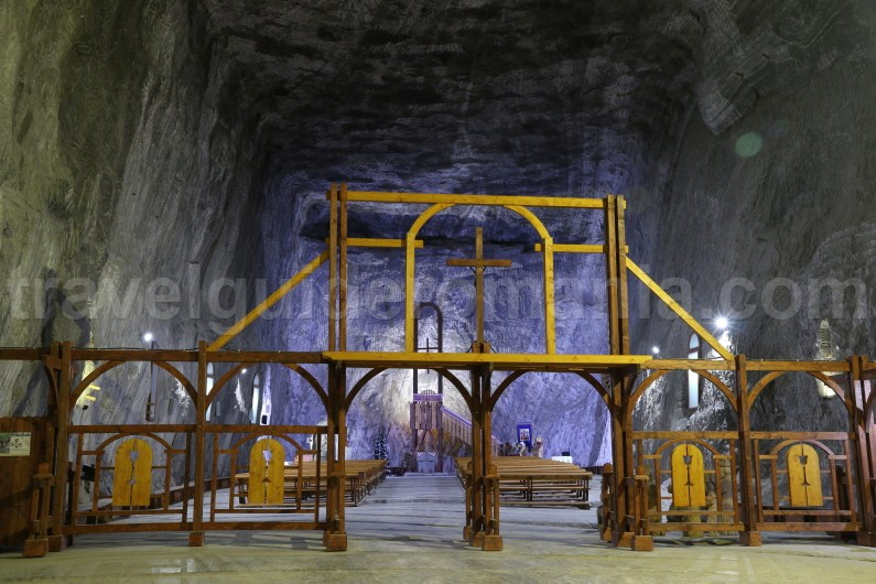 Places to see in Romania - Praid salt mine