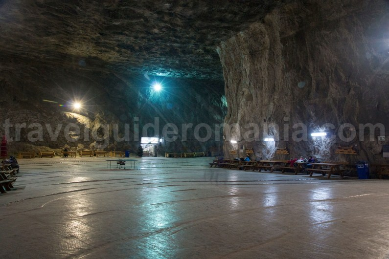 Recovery treatment in Praid Salt Mine - Romania