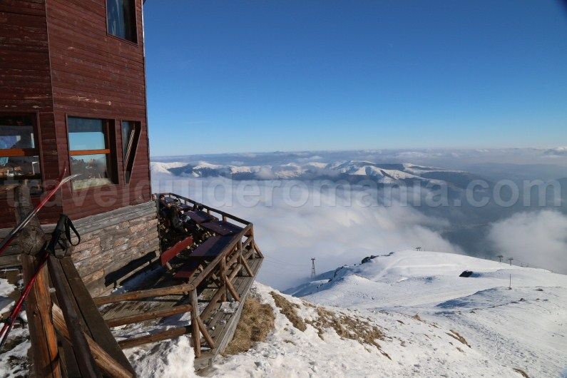 Romanian mountain resorts - Sinaia ski resort - Bucegi Mountains