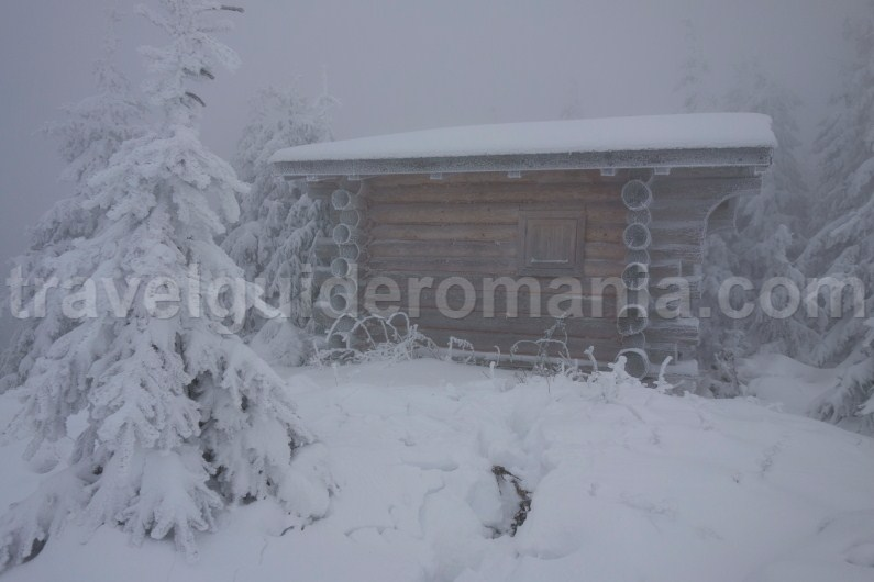 Shelters and cabins in Ceahlau Mountains - Neamt county