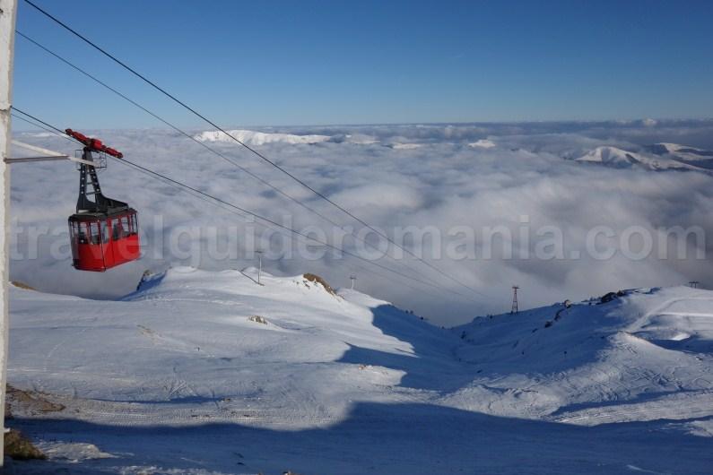 Sinaia cable car - elevation 2000m - Prahova Valley