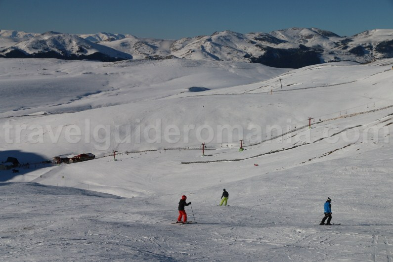 Ski areas and resorts in Romania - Sinaia slopes