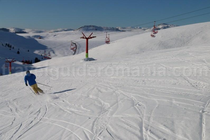 Ski in Bucegi Mountains - Prahovei Valley