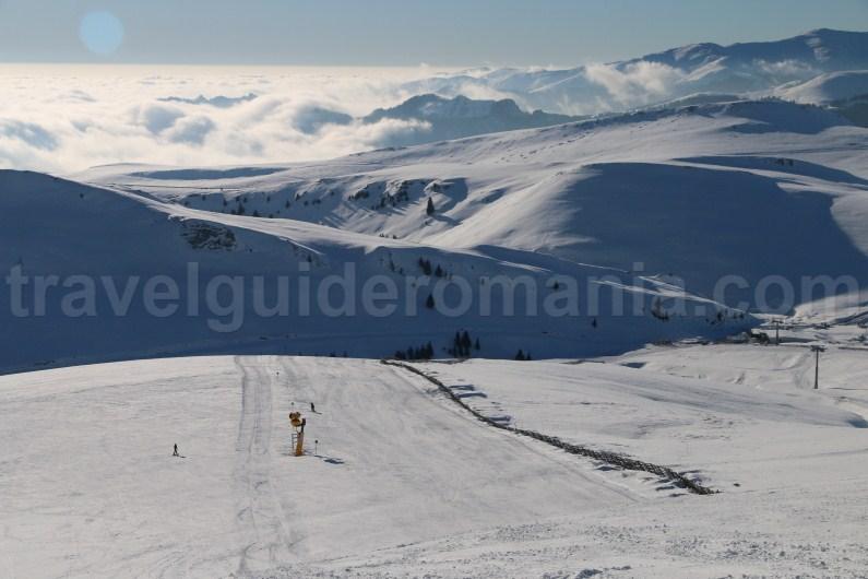 The best Romanian Ski Resorts - Sinaia ski slopes