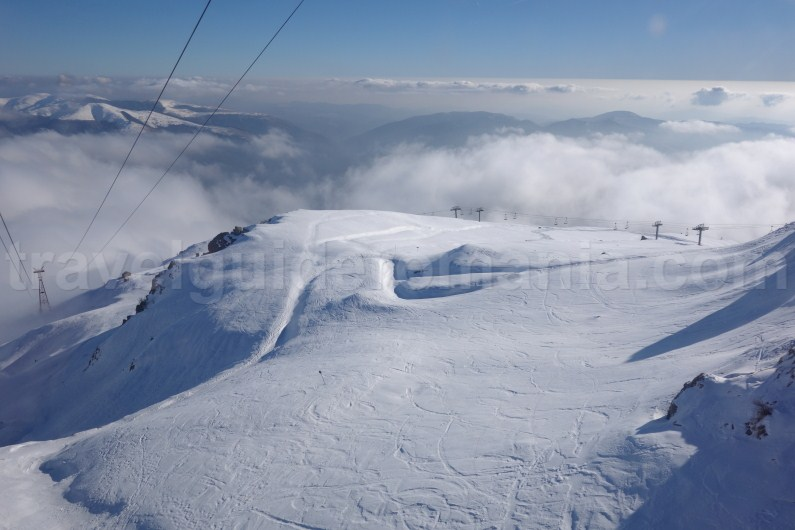 Winter trips in Romania - Sinaia ski resort