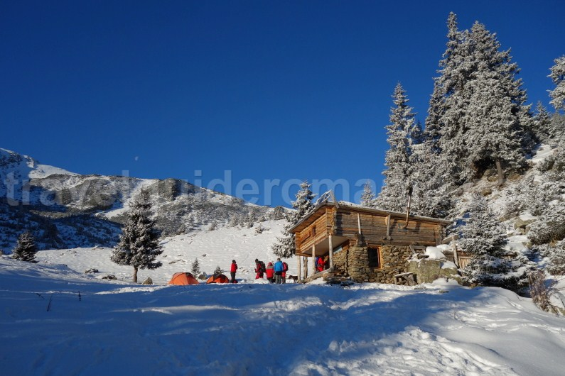 Chalets and shelters in Godeanu mountains - Romania