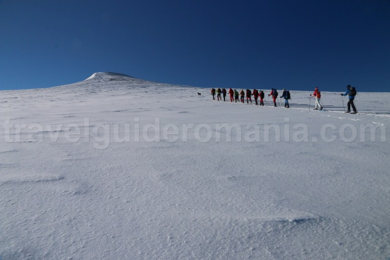 Mountain guide in Romania - trekking in Godeanu Mountains
