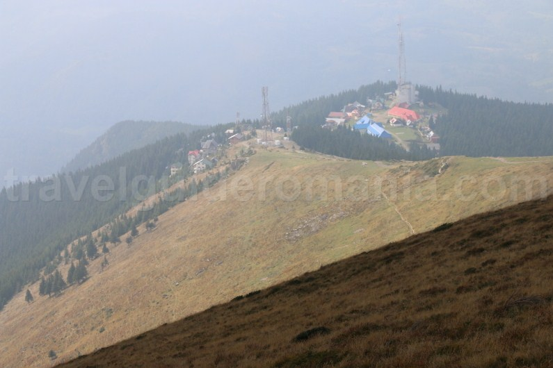 Parang Resort seen from Parangul Mic Peak - Romania