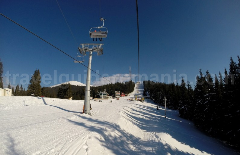 Winter ski trips in Romania - Parang Petrosani ski Resort
