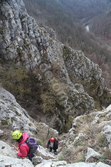 Adventure holidays in Romania - Via ferrata in Vadu Crisului