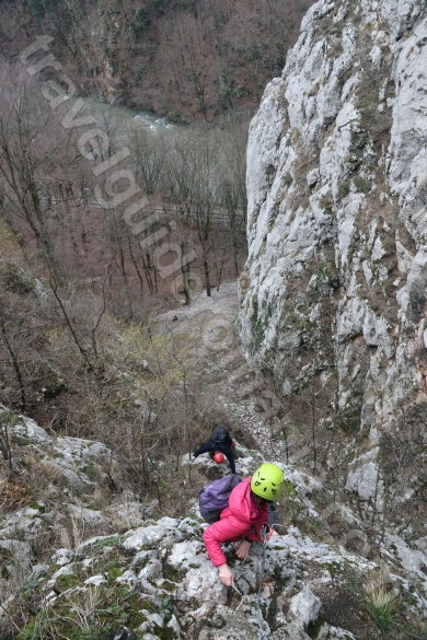 Best tours in Romania - Via ferrata in Vadu Crisului