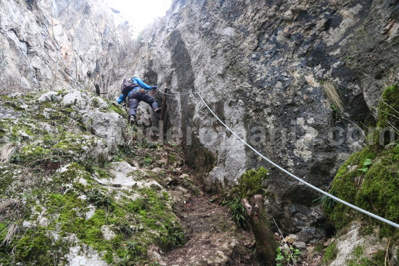Guided trips in Romania - Via ferrata adventure route