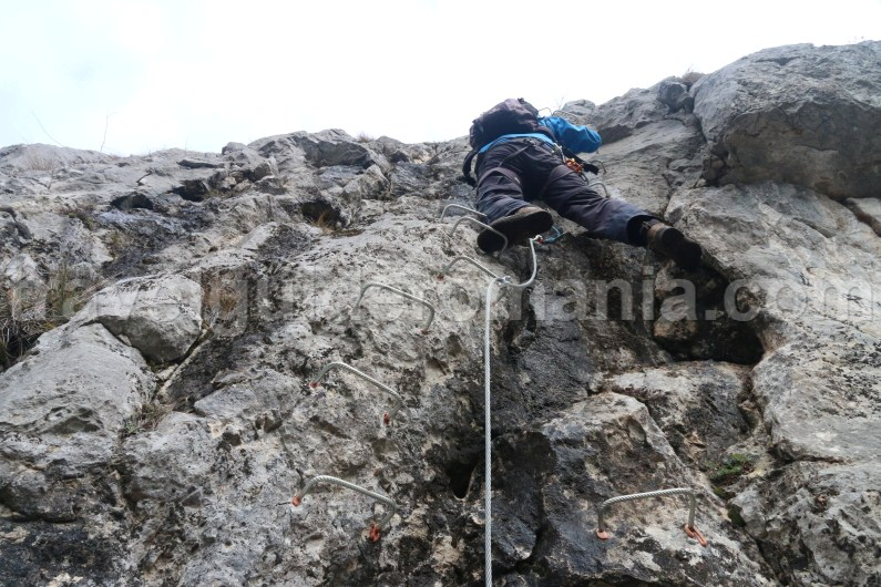 Romania Adventure Holidays - Via ferrata route in Vadu Crisului
