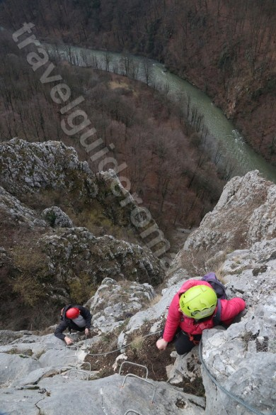 Trips in Apuseni mountains - Via ferrata at Vadu Crisului