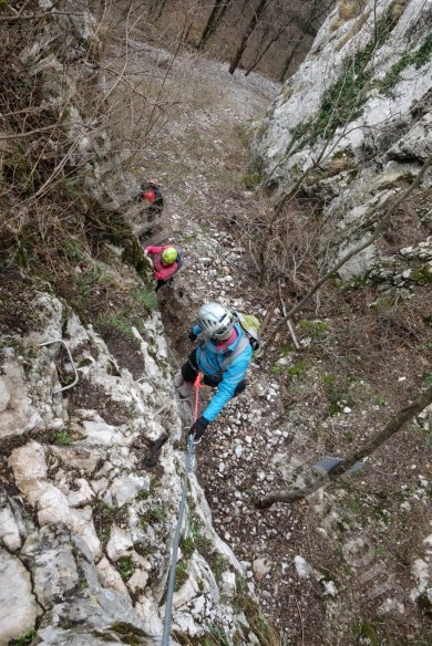 Via Ferrata Walking Holidays in Romania - Vadu Crisului