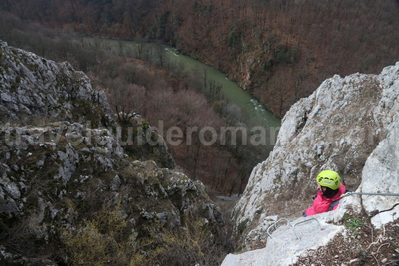 Via ferrata in Romania - adventure travel trips