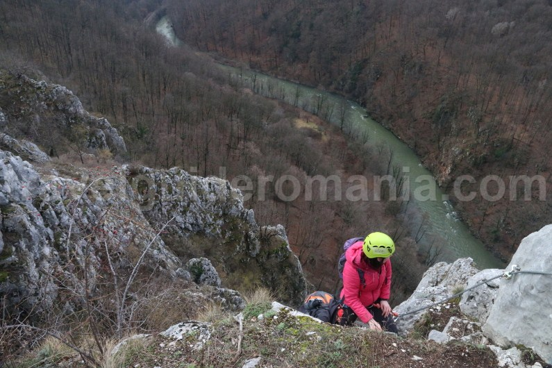 Via ferrata route from Vadu Crisului - Travel to Romania