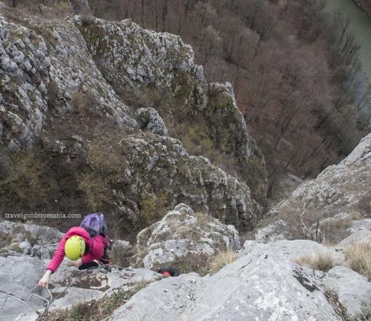 Via ferrata routes in Romania