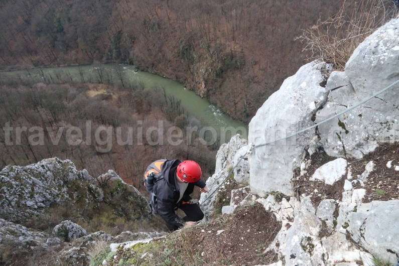 Via ferrata trips in Romania - Vadu Crisului