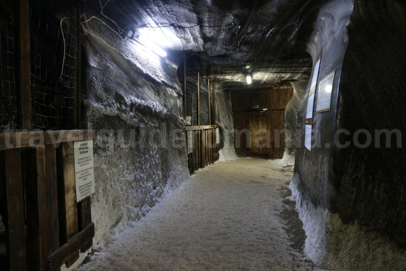 Tourist attractions in Turda Salt Mine - Romania