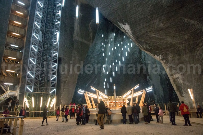 Transylvania destinations travel - Turda Salt Mine