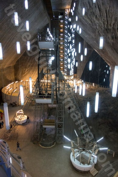Underground salt mine in Romania - Turda Salt Mine