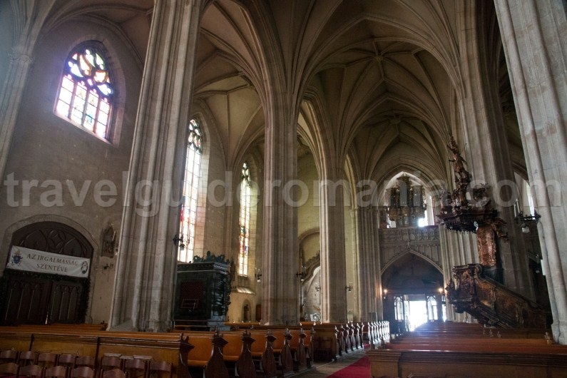 Gothic churches in Transilvania - St Michael church