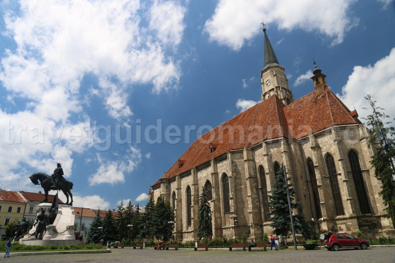 The Catholic St. Michael's Church from Cluj-Napoca