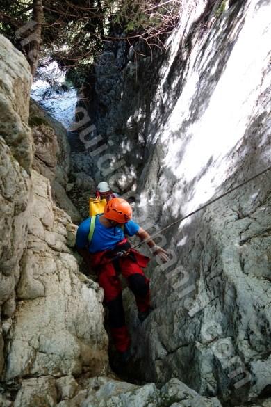 Canyoning in Transylvania - Oratii gorges