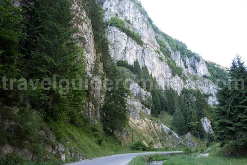 Dambovicioarei gorges - Piatra Craiului National Park
