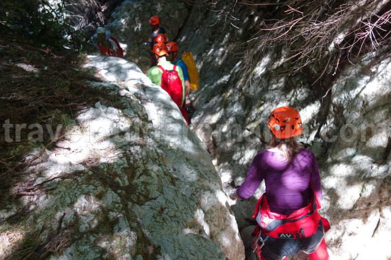 Dry canyoning at Oratii valley - Moeciu area