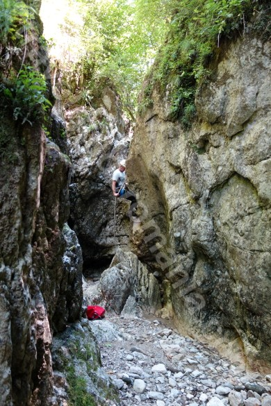 Outdoor adventures in Romania - Oratii canyon