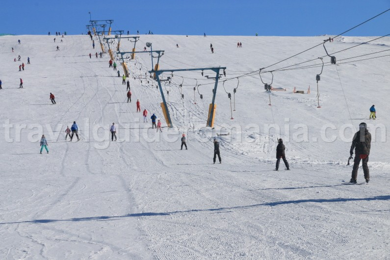 Ski resorts in Romania