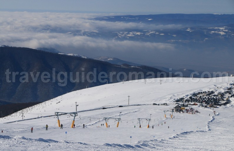 Ski slopes in Romania