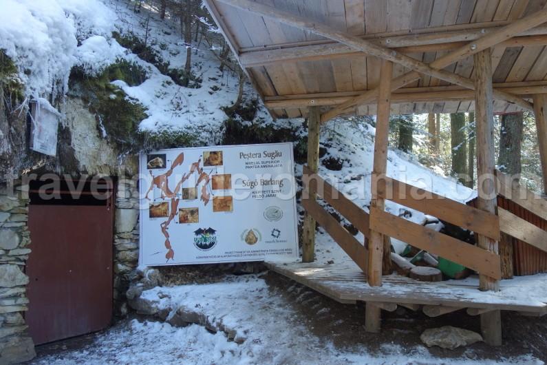 Acces to Sugo-barlang Harghita county