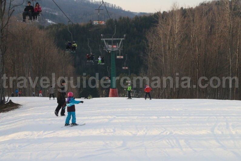 Ski slopes in Caras - Severin county