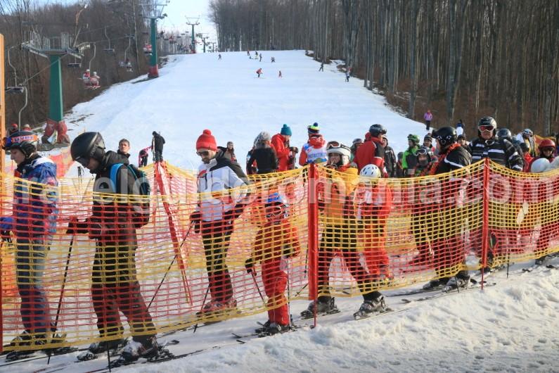 Valiug ski slope