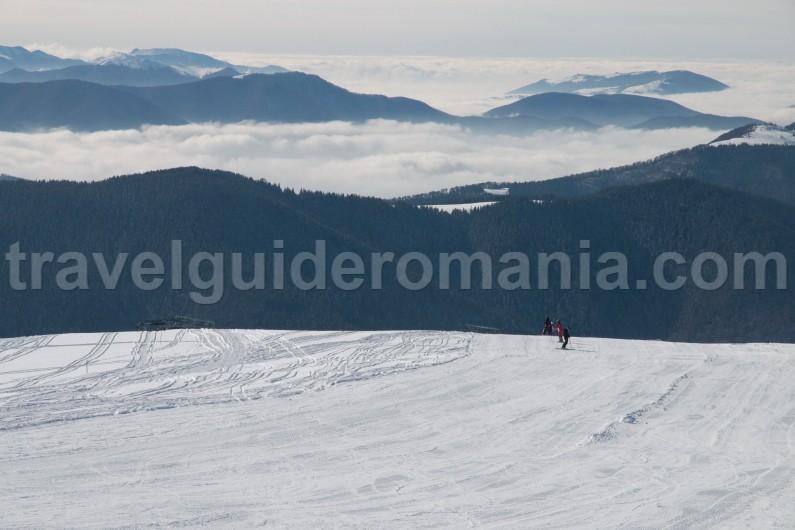 Muntele Mic ski resort