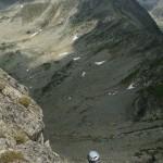 climbing in Retezat mountains