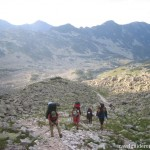 trekking in Retezat mountains - Pietrele valley